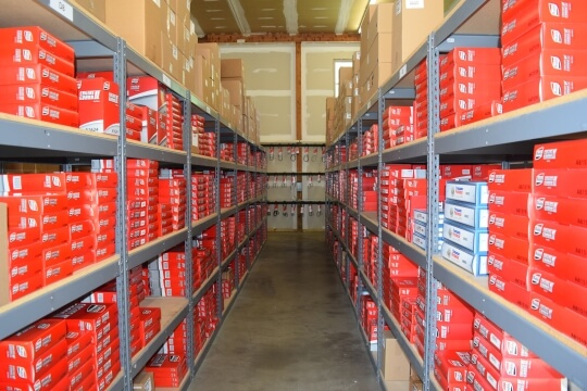 Auto Parts Inventory and Store Room